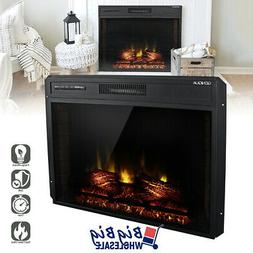 1400w 30 adjustable electric fireplace heater wall