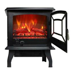 1400w adjust electric fireplace free standing heater