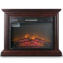 1400W Large Infrared Quartz Electric Fireplace Heater Realis