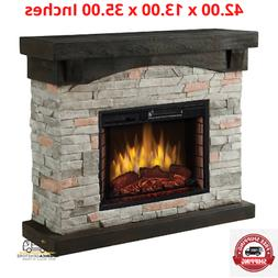 Muskoka 234-159-76 42-in Sable Mills Electric Fireplace with