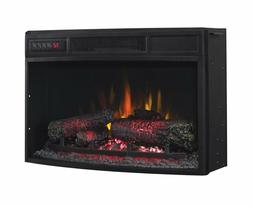 Classic Flame 25″ Curved Electric Fireplace Insert #25EF03
