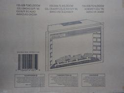 Muskoka 26 in Electric LED Firebox Fireplace Insert 27-800-0