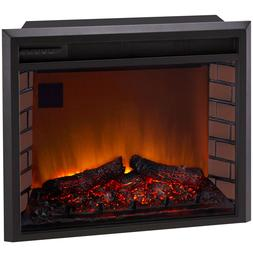 Duluth Forge 29in. Electric Fireplace Insert With Remote Con