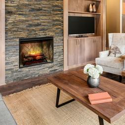 """Dimplex 36"""" Revillusion Electric Fireplace Built In Firebox"""