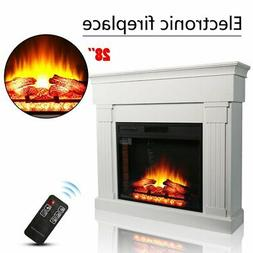 42 wall mount electric fireplace heater multicolor