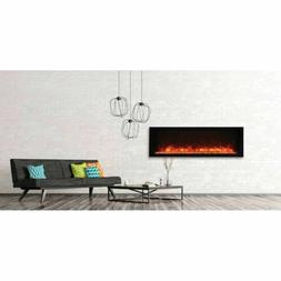 "50"" Panorama Extra Slim Electric Fireplace BI-50-XTRASLIM -"