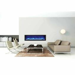 "60"" Panorama Slim Electric Fireplace BI-60-SLIM - Amantii"