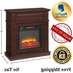 Hampton Bay 25-804-68 Ansley 31.5 in. Infrared Electric Fire