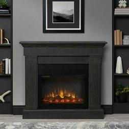 """Real Flame 8020E Crawford 47.4""""  Slim Electric Fireplace in"""