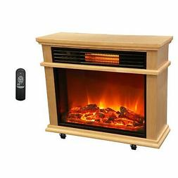 Lifesmart Easy Large Room Infrared Fireplace Includes Deluxe