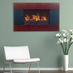 Northwest - Electric Fireplace - Brown