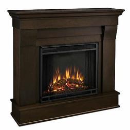 Real Flame - Chateau Electric Fireplace - Dark Walnut