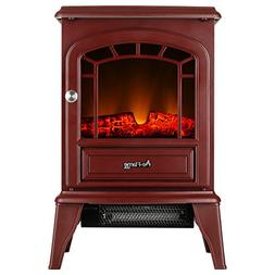 e-Flame USA Aspen Portable Electric Fireplace Stove  - 22-in