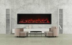 BI-72-DEEP-XT Amantii Indoor/Outdoor Built-in Electric Firep