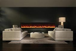 Amantii BI-88-Deep Panorama Series Electric Fireplace Built