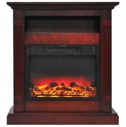Cambridge CAM3437-1CHRLG2 Sienna 34 In. Electric Fireplace w