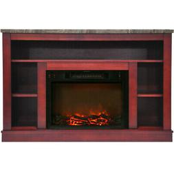 Cambridge CAM5021-1CHR 47 In. Electric Fireplace with a 1500