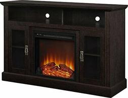 chicago electric fireplace tv console espresso 50