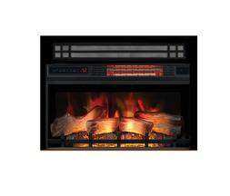 "Classic Flame 26"" 3D Electric Fireplace Insert w/ Trim Optio"