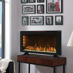 "Classicflame 42"" Wall-Mounted Infrared Electric Fireplace"