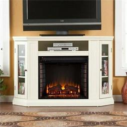 "BOWERY HILL 48"" Convertible Electric Fireplace TV Stand in I"