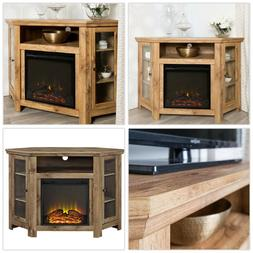 Corner Electric Fireplace TV Stand Entertainment Center 48 i