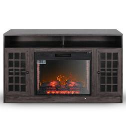 Corner Electric Fireplace Tv Stand Media Center 1400-watt He