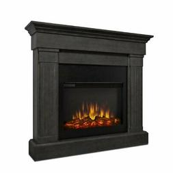 Real Flame Crawford Electric Fireplace in Gray