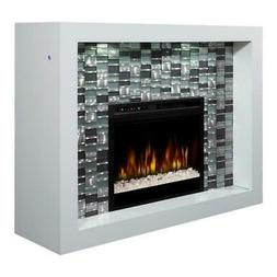 Dimplex Crystal Mantel Electric Fireplace with Acrylic Ember