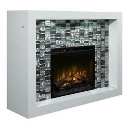 Dimplex Crystal Mantel Electric Fireplace with Logs