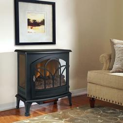 """Muskoka Curved Front 25"""" Infrared Panoramic Electric Stove-B"""