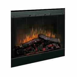 Dimplex Deluxe Electric Fireplace Insert with Trim Kit, 33-I
