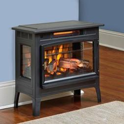 Duraflame 5010 3D Black Infrared Freestanding Stove