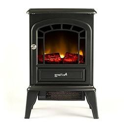 e-Flame USA Aspen Electric Portable Fireplace Stove Heater F