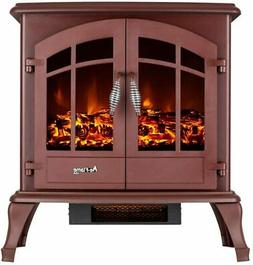 e-Flame USA Jasper Freestanding Electric Fireplace Stove - R