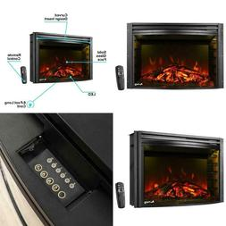 E-Flame Usa Quebec 27-Inch Electric Fireplace Insert  BRAND