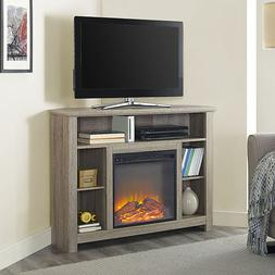 Electric Corner Fireplace TV Stand Console Entertainment Cen