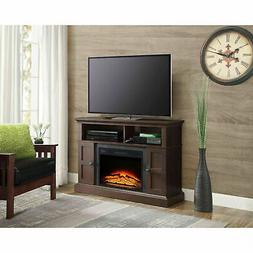 """Electric Fireplace 70"""" TV Stand Entertainment Media Center W"""