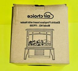 """Electric Fireplace 9.9"""" Small Infrared Heater 500W Features"""