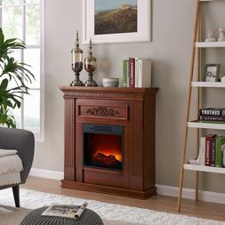 Electric Fireplace Heater Bold Flame 38 inch Wall/Corner in