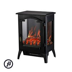 Electric Fireplace Heater Portable Indoor Home Compact Adjus