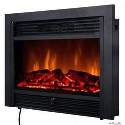 Electric Fireplace Insert Heater Remote Control Home Furnitu