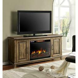 Muskoka Electric Fireplace TV Stand 120-Volt Bluetooth Plug-