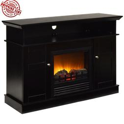Electric Fireplace TV Stand Entertainment Center Media Conso