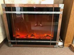 "Amantii Electric Fireplaces ZECL-39-4134 39"" Zero Clearanc"
