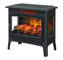 Duraflame Electric Infrared Quartz Fireplace Stove with 3D F