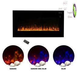 Northwest Electric  Wall Mounted Led Fire And Ice Flame, Wit
