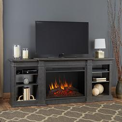 Eliot Grand Entertainment Unit with Electric Fireplace - Ant