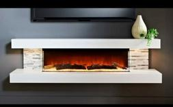 Evolution Fires new Vegas 72in wall mounted electric firepla