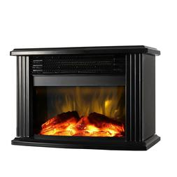 Fake Fireplace Home Entertainment System Electric Console He